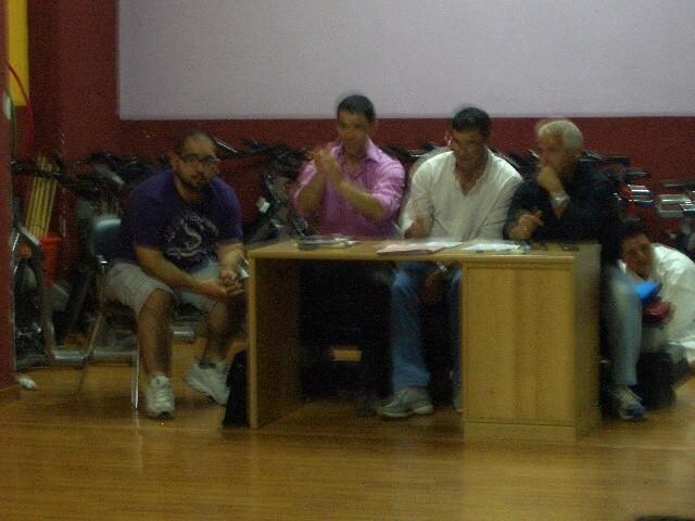 Istr. Gagliardi, M° Grasso, Maestro Zullo, M° Ghiura.