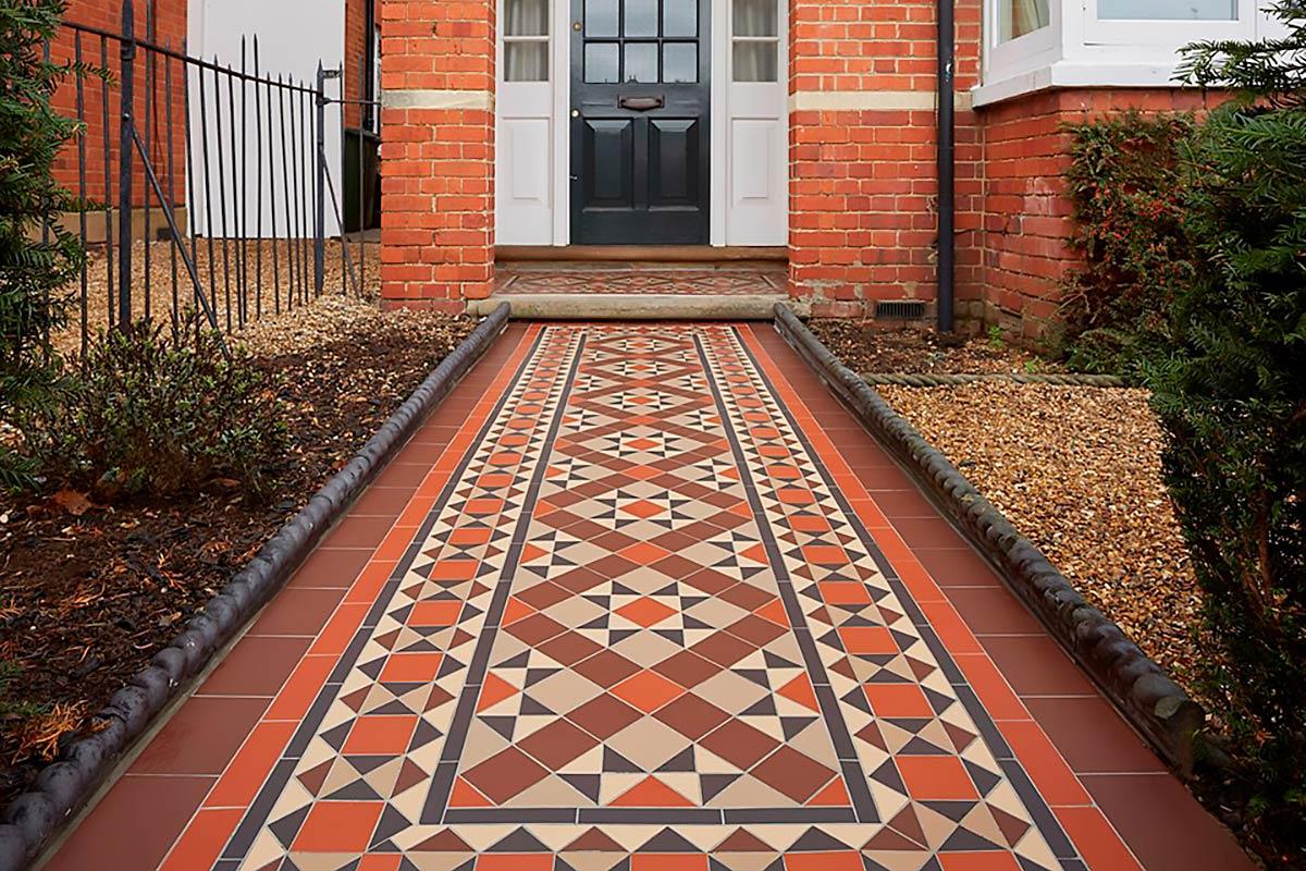 Muster: Bespoke // Viktoriansiche Fliesen von Original Style