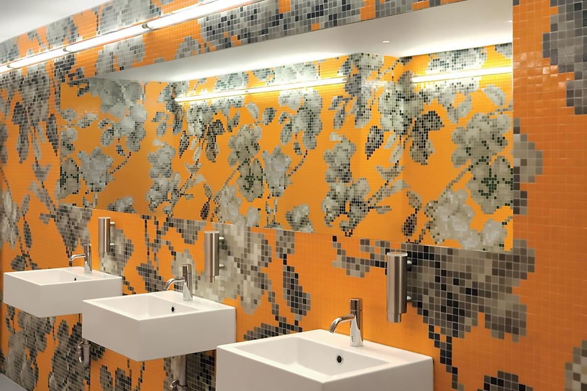 Mosaikfliesen von Bisazza