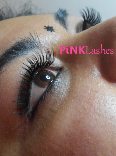 Pinklashes wimperextensions Den Haag