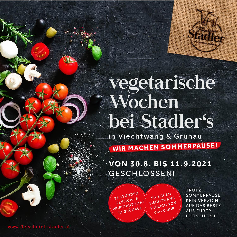 Vegetarische Wochen bei Stadler´s