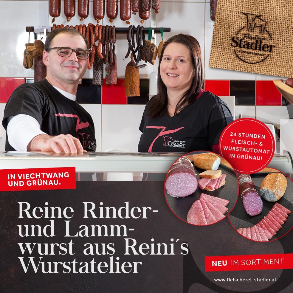 NEU: Reine Rinder- und Lammwurst.