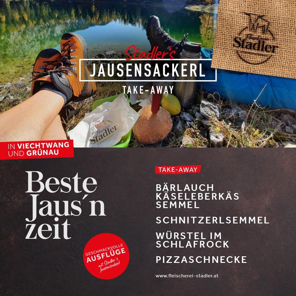 NEU: Stadler´s Jausensackerl - Der regionale Genuss für unterwegs.