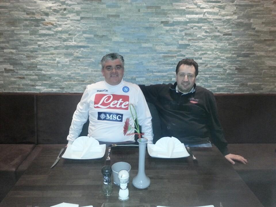 Salvatore Berini und Massimo Buono freuen sich auf Ihren Besuch