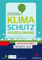 Klimaschutz Auszeichnung Bergedorf - Link zur Broschüre als PDF