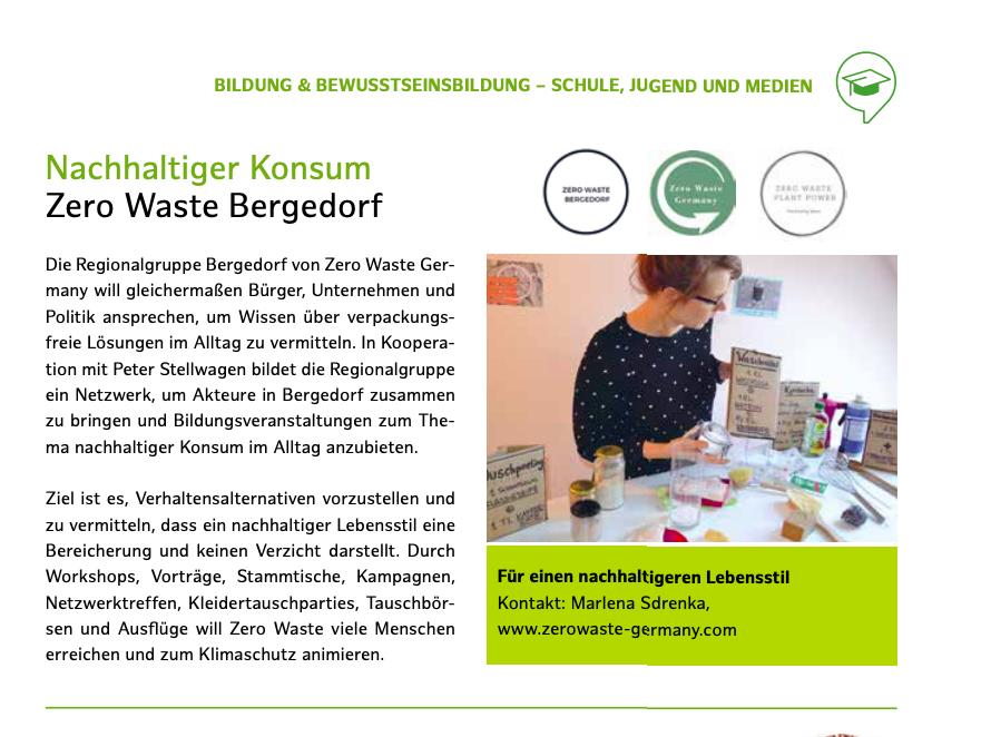 Zero Waste Germany - Klimaschutz Auszeichung - Preisverleihung - Zero Waste Deutschland