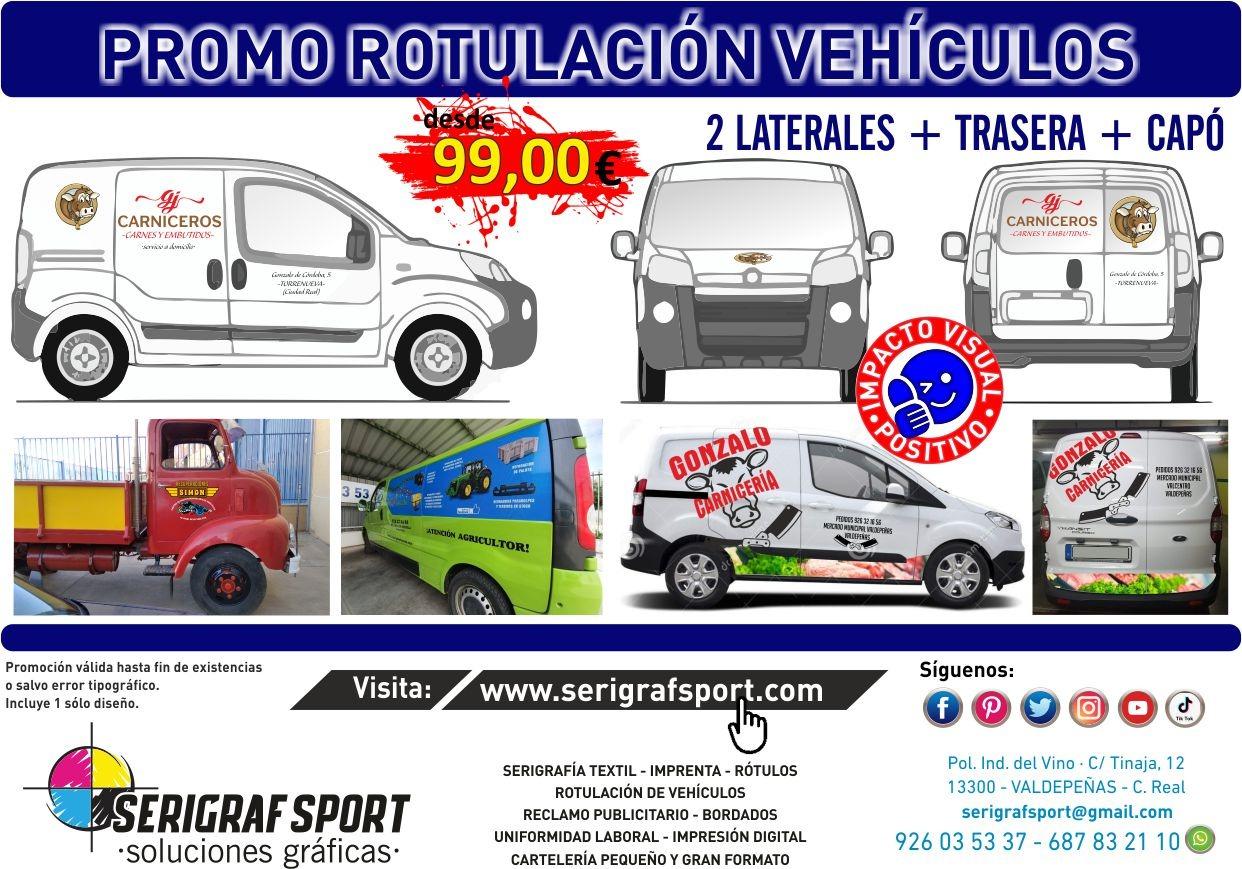 Seguimos con nuestra promo de rotulación de vehículos