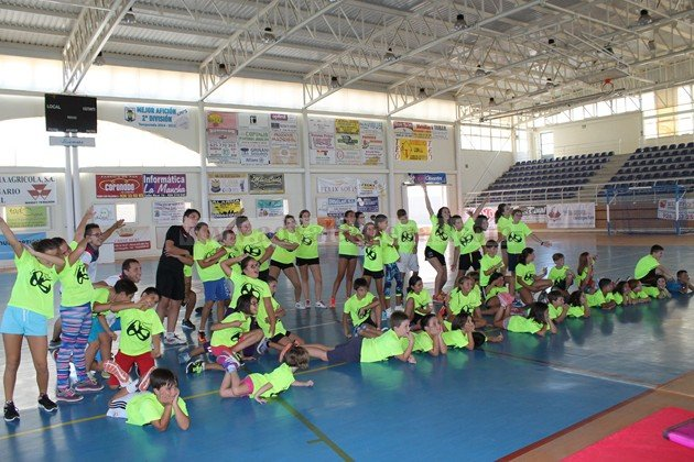 Clausura del III Campus Polideportivo en Valdepeñas