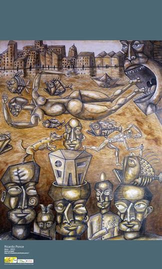 """Ricardo Ponce - """"El nacimiento de oshun"""""""