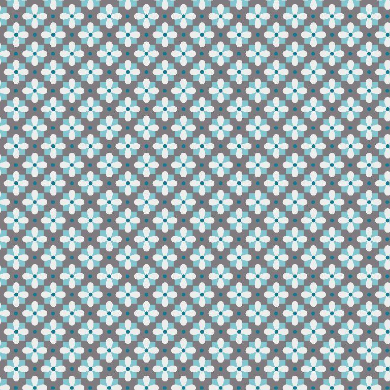 Feinkord 100%BW Alice grau/blau
