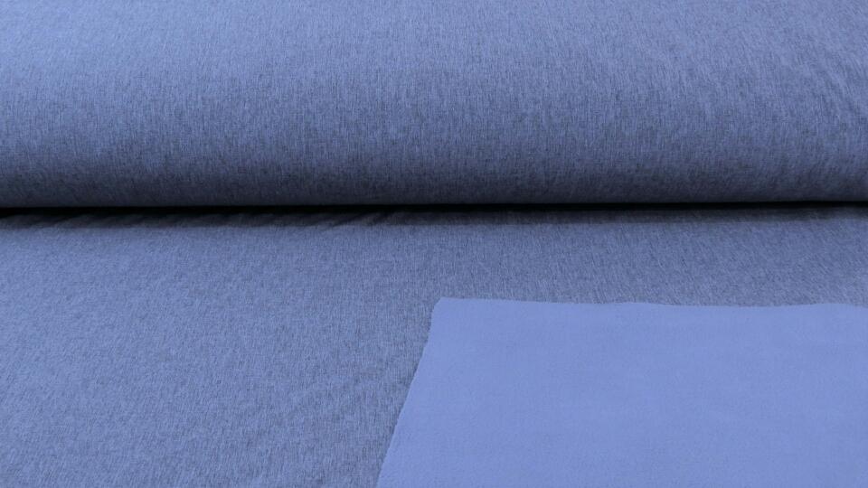 Softshell meliert blau