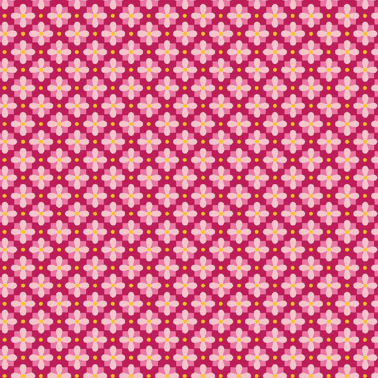 Feinkord 100% BW Alice rosa/pink