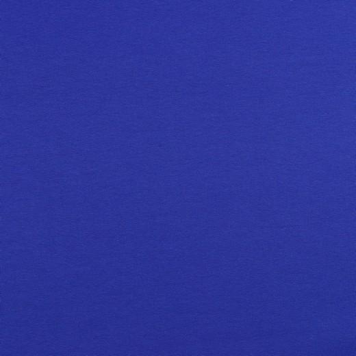 French-Terry-Sweat royalblau