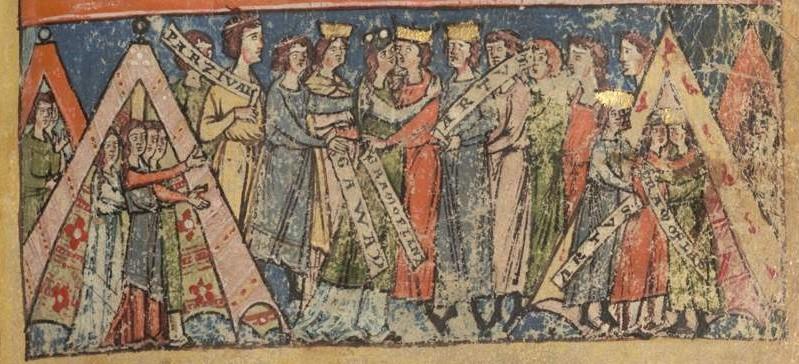 Parzifal, Titurel und Tagelieder - BSB Cgm 19 - f.49 - SERG - 1240