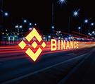 Auf diesem Bild erkennt man das Logo von der Krypto Exchange Börse Binance