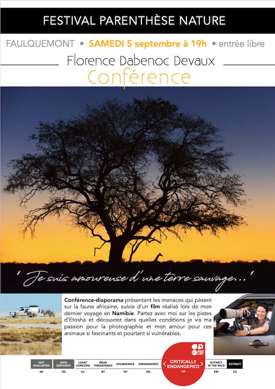 SEPTEMBRE 2020 : Festival PARENTHÈSE NATURE