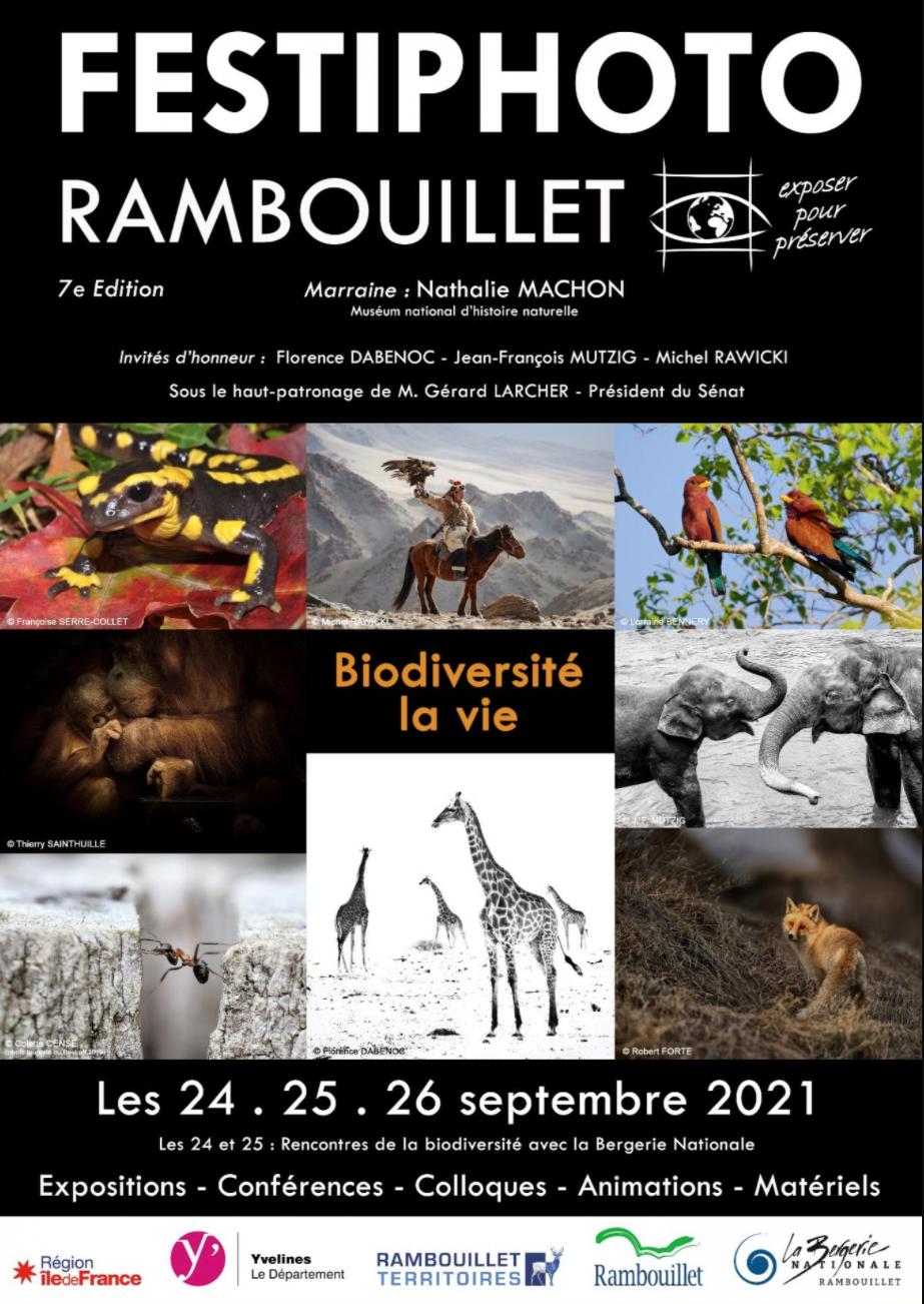 SEPTEMBRE 2021 : Invitée d'honneur au FESTIPHOTO de Rambouillet