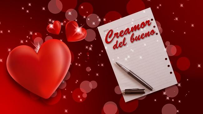 Concurso de cartas de amor: Creamor del bueno