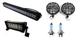 LED - FANALERIA UNIVERSALE JEEP WILLYS - CJ 3 - CJ 5