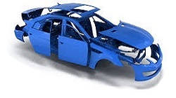 CARROZZERIA - ESTERNI - LAMIERATI TOYOTA HILUX N160 / LN165 4WD / 2WD dal 1998 al 2001