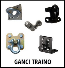 GANCI TRAINO TOYOTA LAND CRUISER BJ 40 - BJ 42