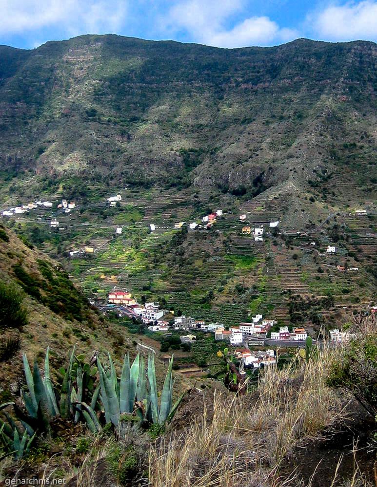 Blick zurück ins Tal Hermigua