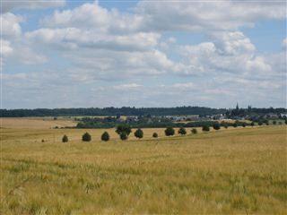 Blick auf Sabershausen