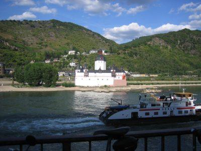 Pfalzgrafenstein im Rhein bei Kaub