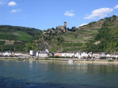 Burg Gutenfels bei Kaub, Rhein