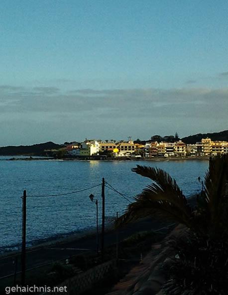 Blick auf La Playa