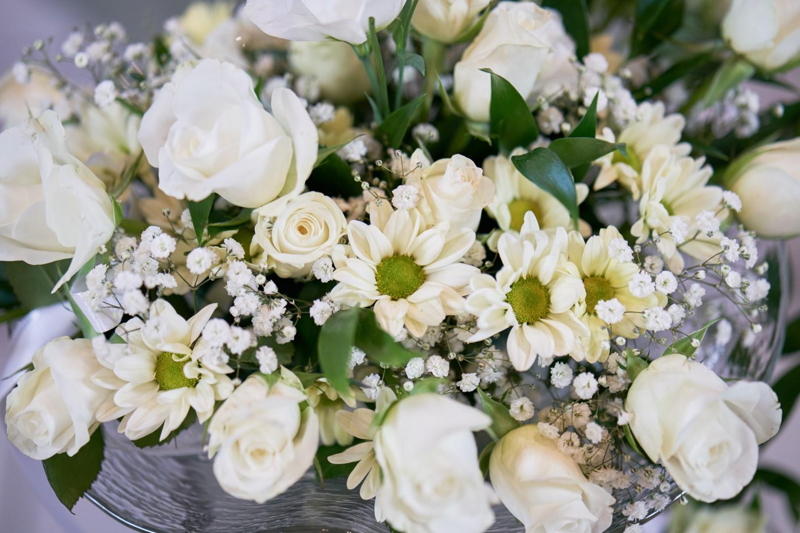 Blumendekoration Foto by Mathias Dietiker