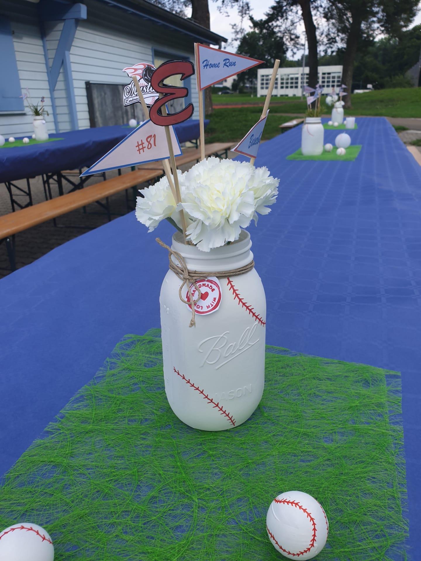 Geburtstagsparty Baseball