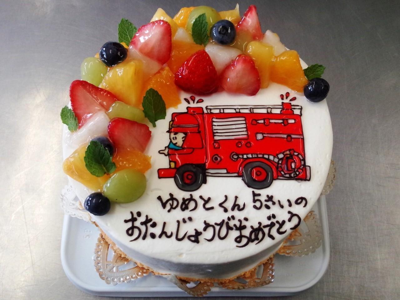 イラストバースデーケーキ 手作りイラストケーキのエミル 岐阜