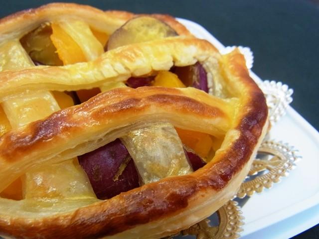 お芋とかぼちゃのパイ(期間限定)