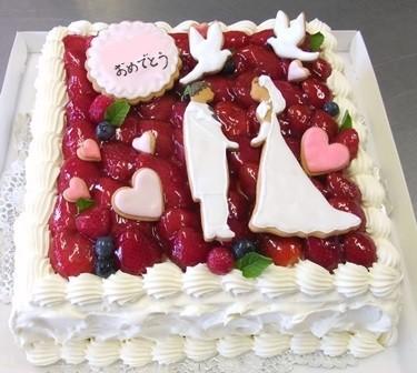 ウエディングケーキ(予算・内容・相談に応じます)
