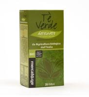 tè verde deteinato bio altromercato