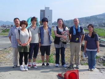 陸前高田市でボランティア活動に参加しました