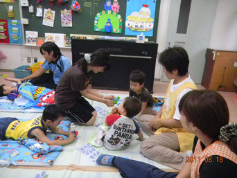 石巻市保育所ボランティア活動