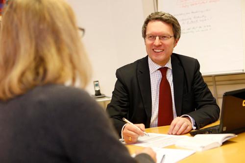 Sebastian Brandt bietet vielfältige Beratungsleistungen.