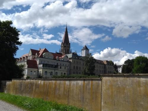 Ausflug zur Erzabtei Sankt Ottilien mit Bewohner*Innen der Seniorenresidenz am Westpark im August 2021