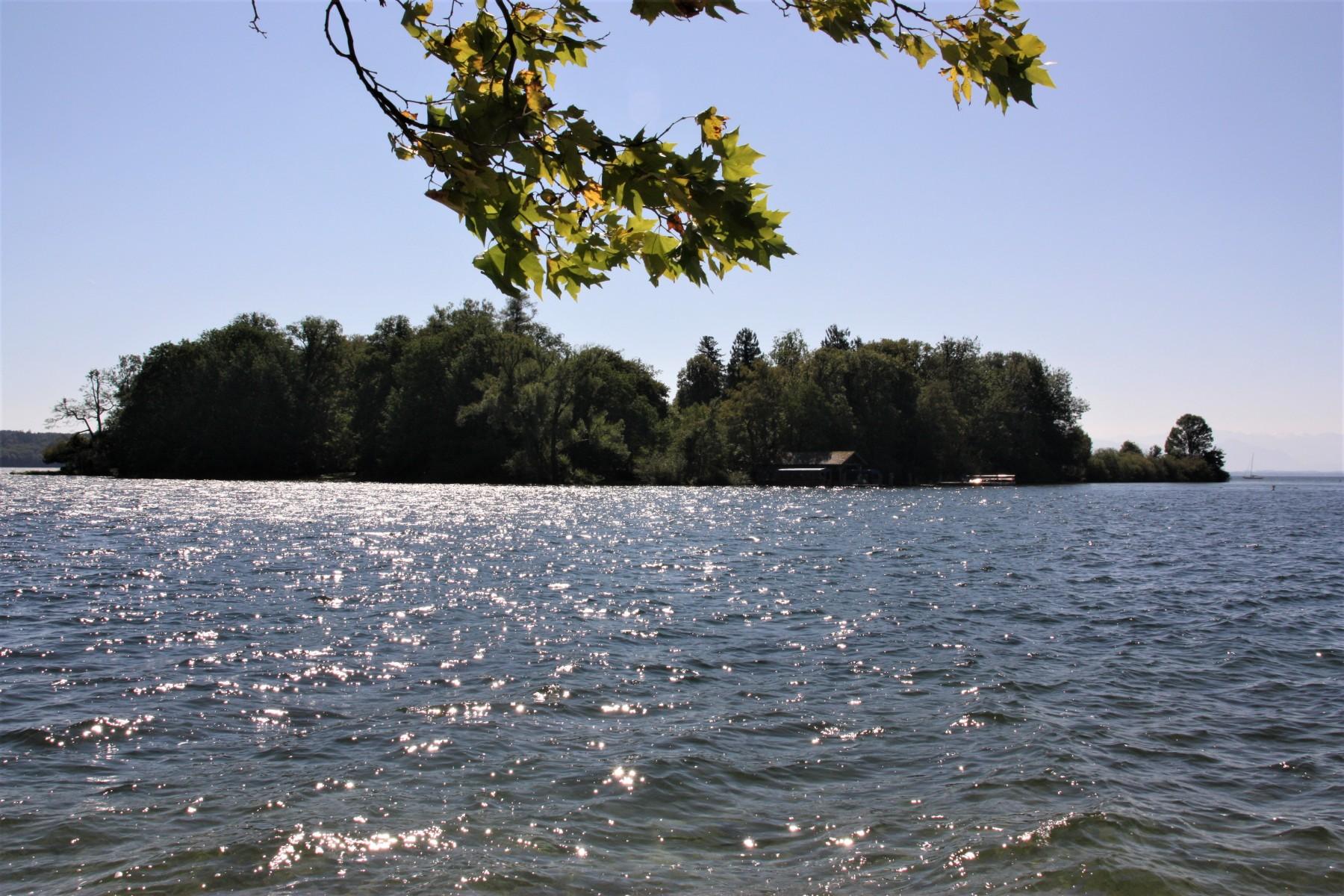 Ausflug zur Roseninsel im Starnberger See mit Bewohner*Innen der Seniorenresidenz am Westpark im September 2021