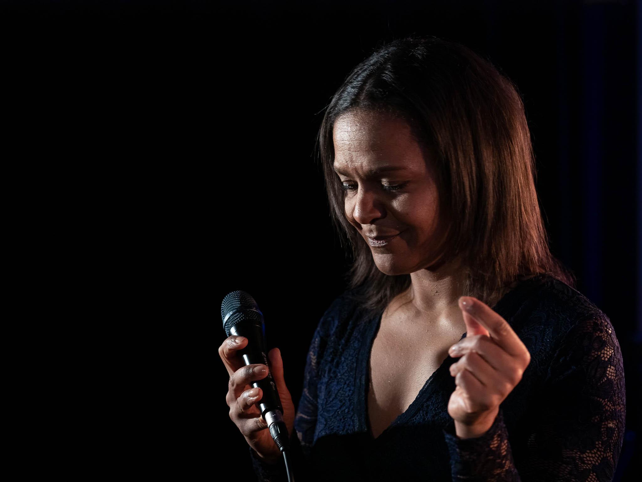 Jazzsängerin Felicia Touré