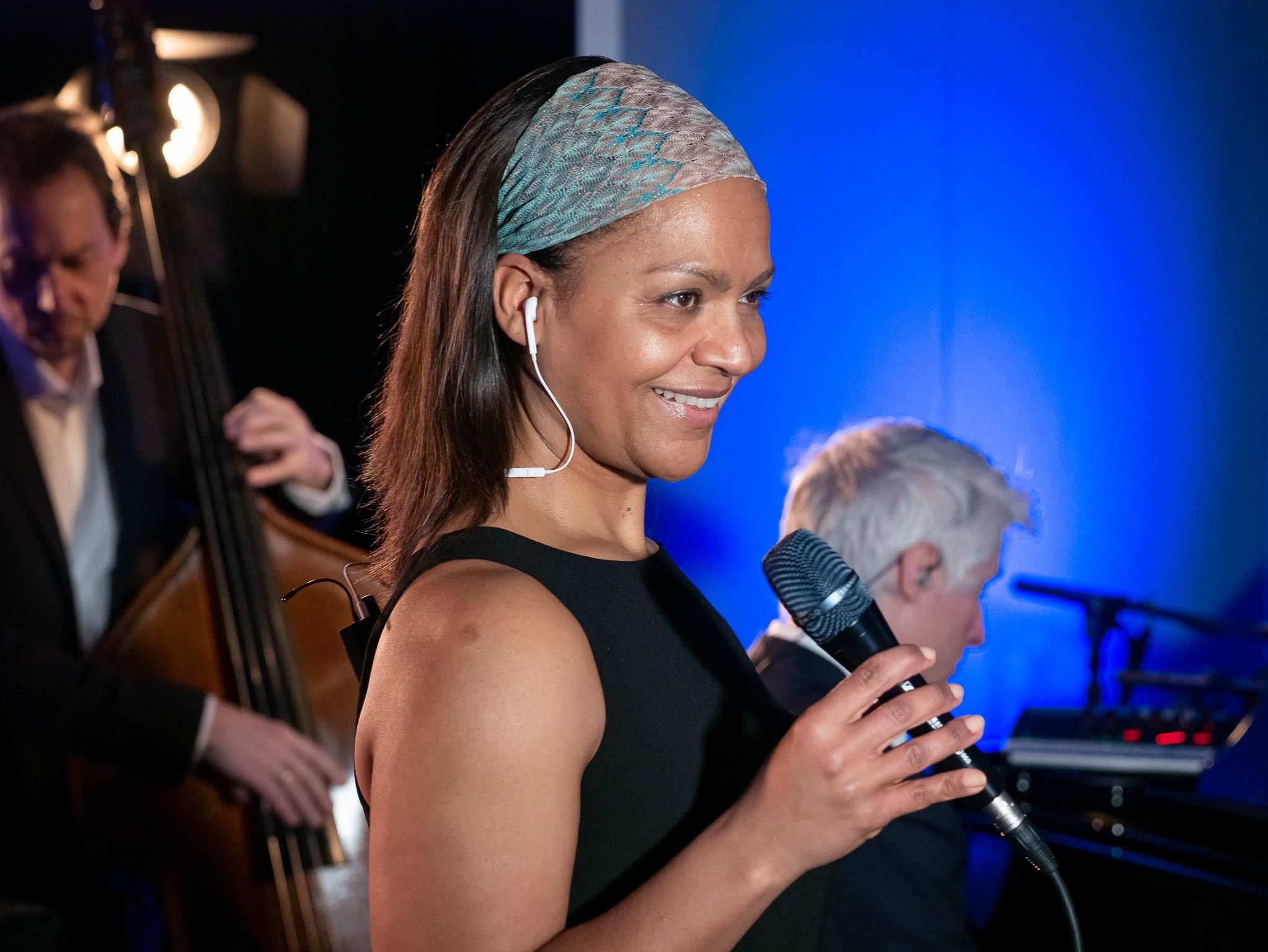 Sängerin Felicia Touré
