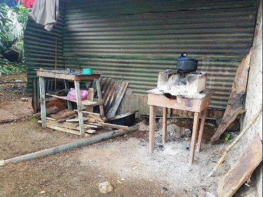 Küche im Freien