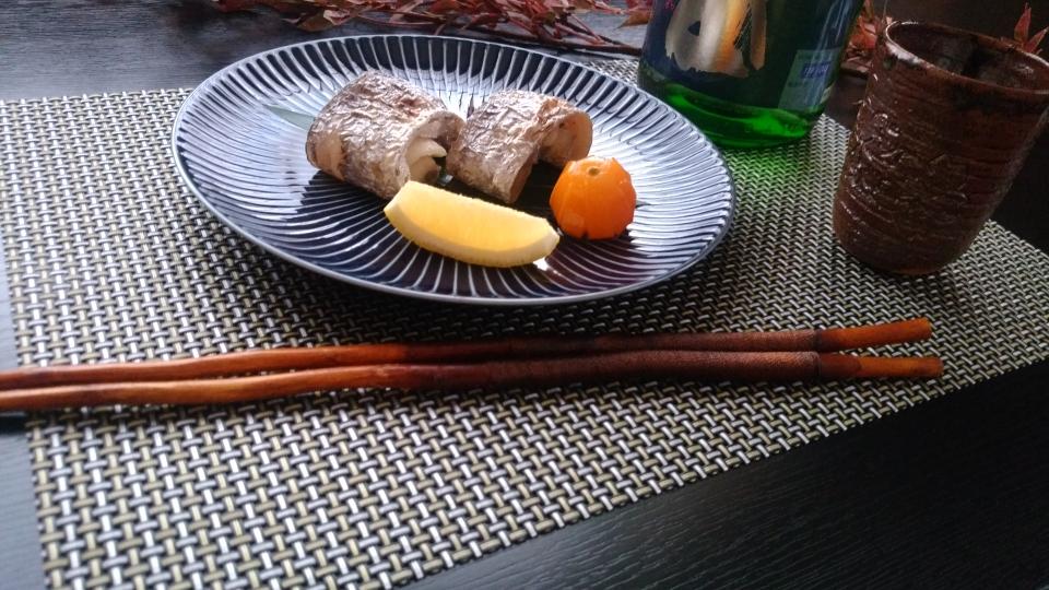 自家製 太刀魚一夜干し焼き
