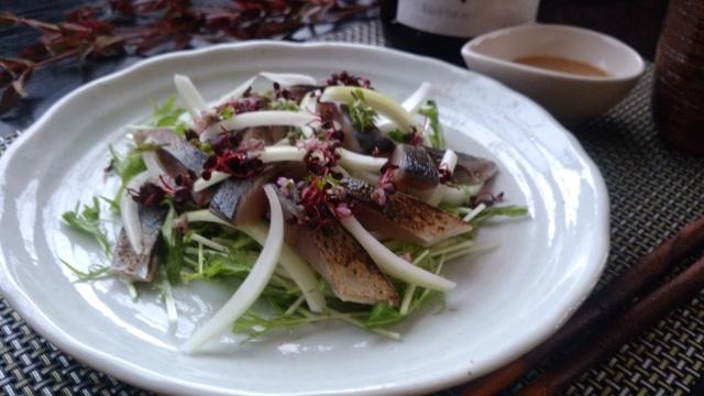 炙り〆鯖サラダ仕立て