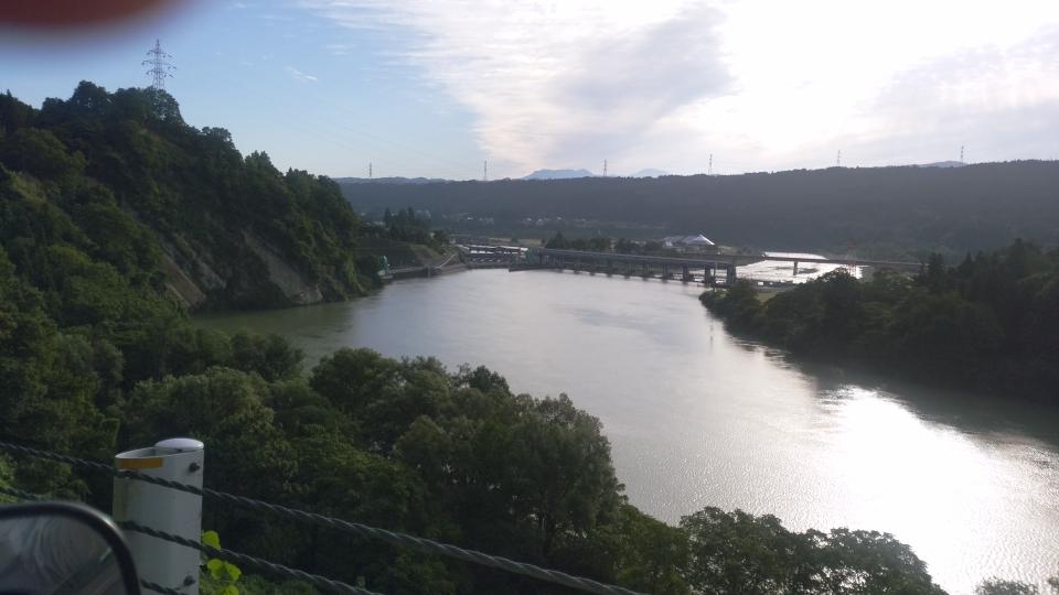 十日町宮中 信濃川取水ダム 旧R353