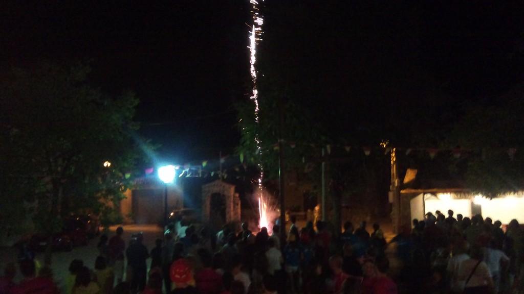 Fuegos sabado 2012