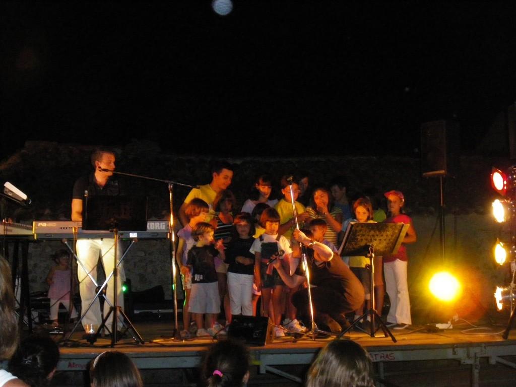 Fiestas del Agua 2010 Actuación