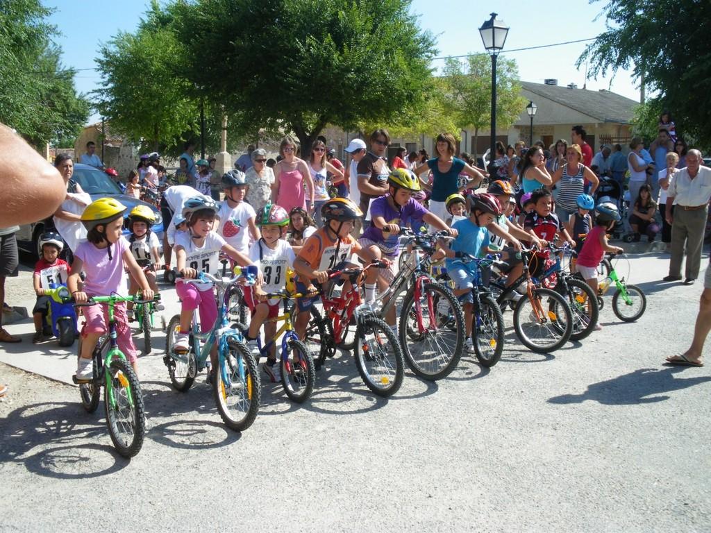 Fiestas del Agua 2010 Carrera de Bicis